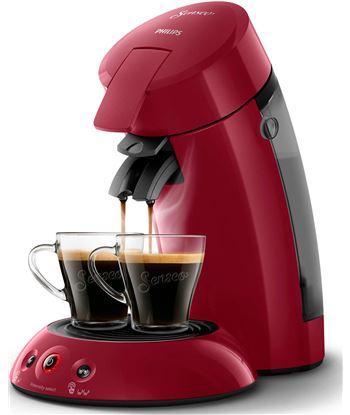 Saeco cafetera philips senseo original rojo oscuro - monodosis - crema plus - dep hd6554/91 - PHPAE-CAF HD6554 91