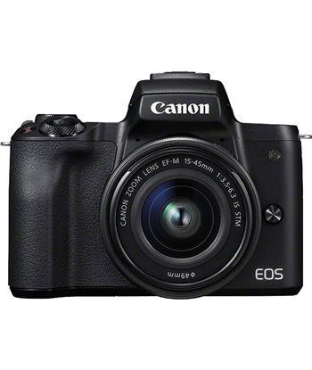 Canon KIT EOS M50 NEGro cámara 24.1mp 4k digic 8 wifi nfc bluetooth + objet - KIT EOS M50 NEGRO