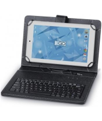 3go CSGT27 funda universal con teclado negra - para tablets 10''/25.4cm - 83 - 8436531558918
