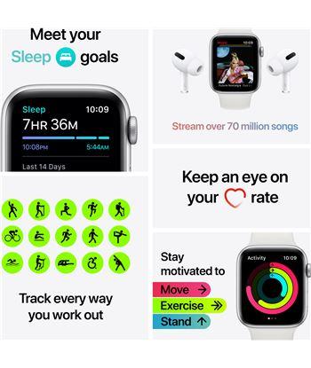 Apple MYEJ2TY/A watch se 40mm gps cellular caja oro con correa ciruela sport loop - m - 85937367_0512935386