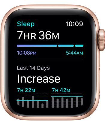 Apple MYEJ2TY/A watch se 40mm gps cellular caja oro con correa ciruela sport loop - m - 85937367_5182691478