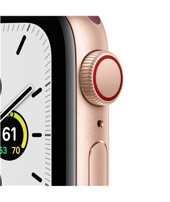 Apple MYEJ2TY/A watch se 40mm gps cellular caja oro con correa ciruela sport loop - m - 85937367_9085563660