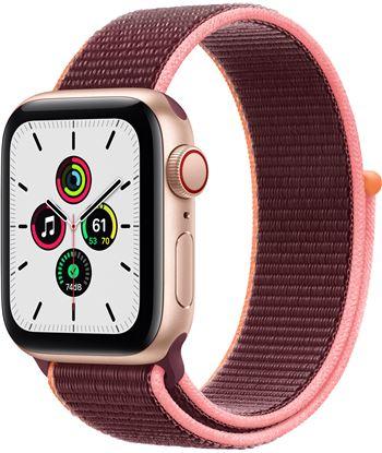 Apple MYEJ2TY/A watch se 40mm gps cellular caja oro con correa ciruela sport loop - m - MYEJ2TYA