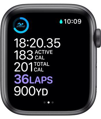 Apple MG2E3TY/A watch s6 44mm gps cellular caja aluminio gris espacial con correa neg - 85936661_9752112841