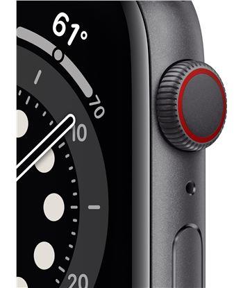 Apple MG2E3TY/A watch s6 44mm gps cellular caja aluminio gris espacial con correa neg - 85936661_1556513620