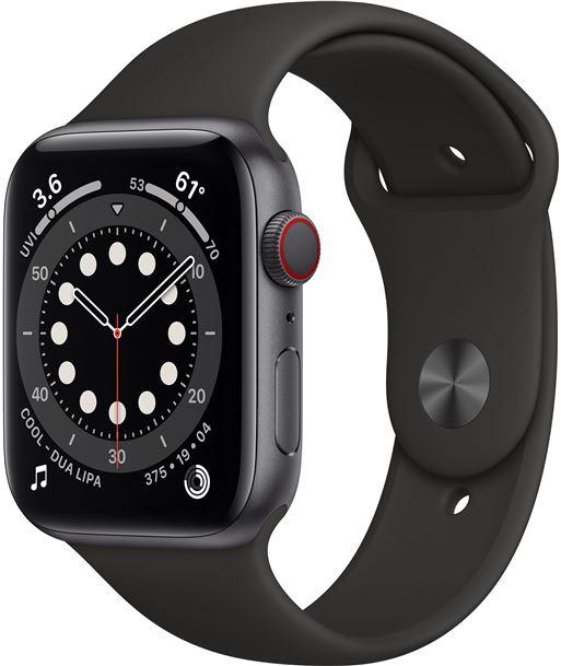 Apple MG2E3TY/A watch s6 44mm gps cellular caja aluminio gris espacial con correa neg - MG2E3TYA