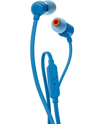 Auriculares intrauditivos jbl t110 blue - pure bass - dRivers 9mm - cable p JBLT110BLU - +94292