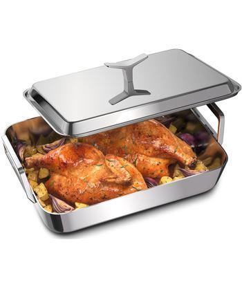 Electrolux E9KLLC1 fuente asadera con tapa para horno, de - ideal para asar todo ti - E9KLLC1