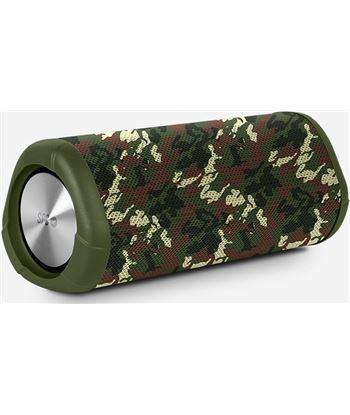 Altavoz bluetooth Spc tube verde - 10w - bt4.2 - bat. 2500mah - waterproof 4416 V - 4416 V
