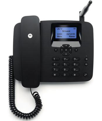 Motorola FW200L NEGRO telefono fijo inalambrico sim 2g gsm con bateria auxi - FW200L NEGRO