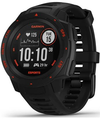 Garmin INSTINCT ESPORT s edition 45mm smartwatch resistente para gamers - +23300