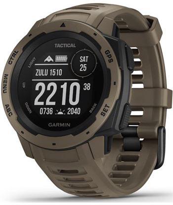 Reloj deportivo con gps Garmin instinct tactical edition marrón pardo - pan 010-02064-71 - 010-02064-71