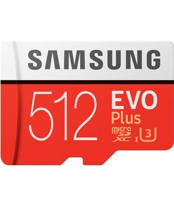 Samsung MB-MC512HA/EU tarjeta microsd xc + adaptador - evo plus - 512gb - clase 10 - 100m - MB-MC512HAEU