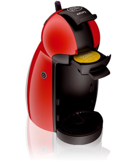 Krups cafetera  expres kp1006pk .dolce gusto. piccolo roja packkp1006(3p) - KP1006