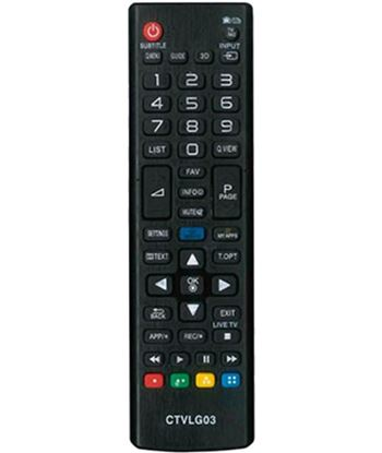 Lg 02accoemctv03 mando a distancia ctv03 compatible con tv - no precisa programación - 8436034266136