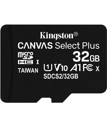 Ngs SDCS2/32GBSP tarjeta microsd hc kiton canvas select plus - 32gb - clase 10 - 100mb/s - SDCS232GBSP