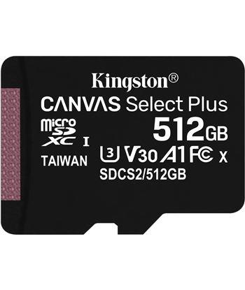 Kingston SDCS2/512GB tarjeta microsd xc 512gb + adaptador canvas select plus - clase 10 - SDCS2512GB