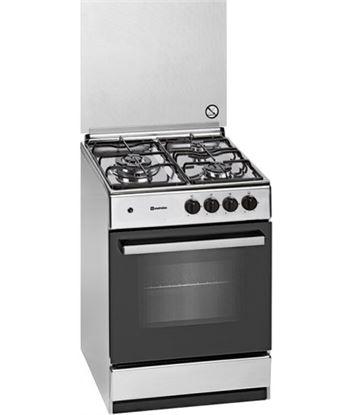 Meireles G540X cocina gas 3 zonas acero inoxidable gas butano - 5604409146847