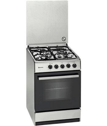 Meireles E541X cocina gas 3f 56.5cm inox butano horno electrico - 5604409146885-0