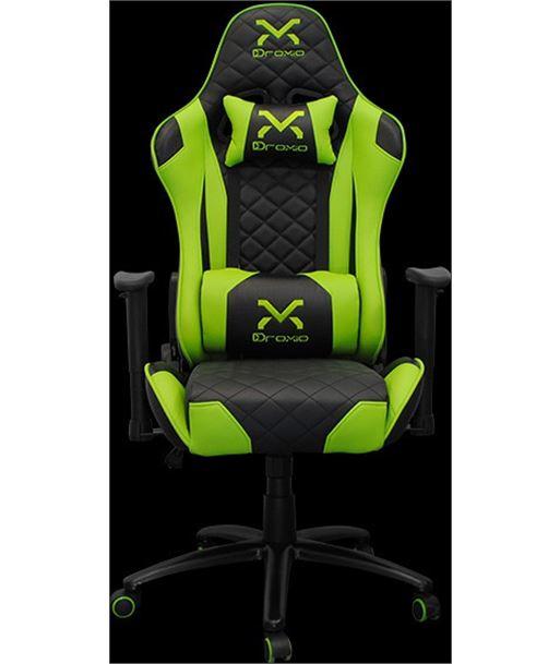 Nuevoelectro.com TROUN silla gamer droxio verde - chasis metálico - apoyabrazos 2d - cilindr - TROUN