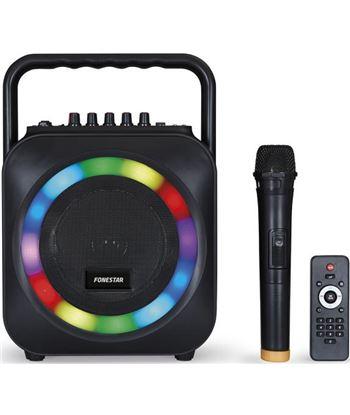 Fonestar BOX-35LED altavoz portátil con reproductor bt/sd y micrófono inalá - BOX-35LED