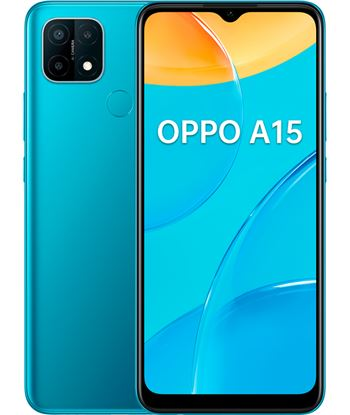 Oppo O A15 MYSTER a15 azul misterioso móvil 4g 6.52'' hd+ octacore 32gb 3gb ram tricam 1 - 6944284675834