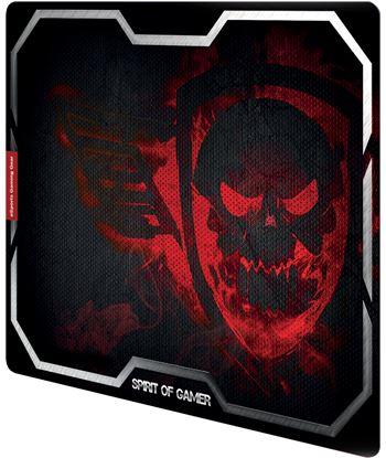 Spirit SOG-PAD01XLR alfombrilla of gamer smokey skull red tamaño xl - 435x323 - 3mm - ba - 35414627_0967169834