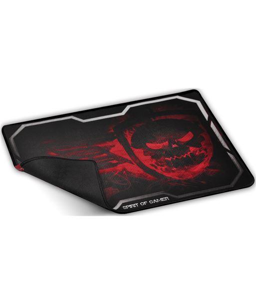 Spirit SOG-PAD01XLR alfombrilla of gamer smokey skull red tamaño xl - 435x323 - 3mm - ba - SOG-PAD01XLR
