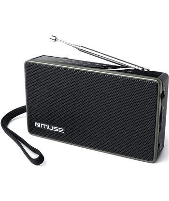 Muse M-030 R negro radio analógica fm/am con altavoz integrado - +21464