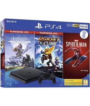 Consola Sony playstation 4 slim 500gb + horizon zero dawn complete edition 9391807 - 9391807
