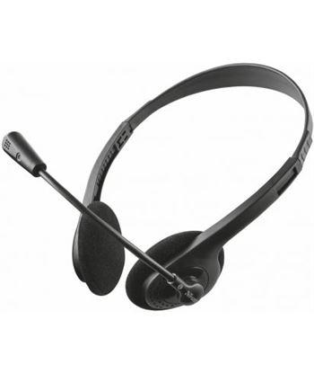 Auriculares con micrófono Trust primo chat - estéreo - micrófono flexible a 21665 - TRU-AUR 21665