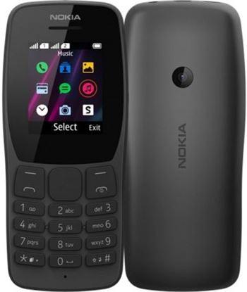 Nokia 110 DS BK teléfono móvil 110 negro - pantalla 1.77''/4.49cm qvga - 4mb ram - 4mb - NOK-TEL 110 DS BK