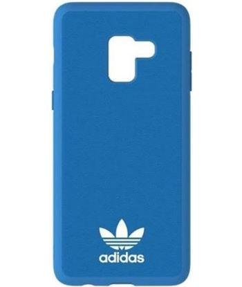Carcasa adidas original basics azul compatible con Samsung galaxy a8 31113 - ADI-FUNDA 31113
