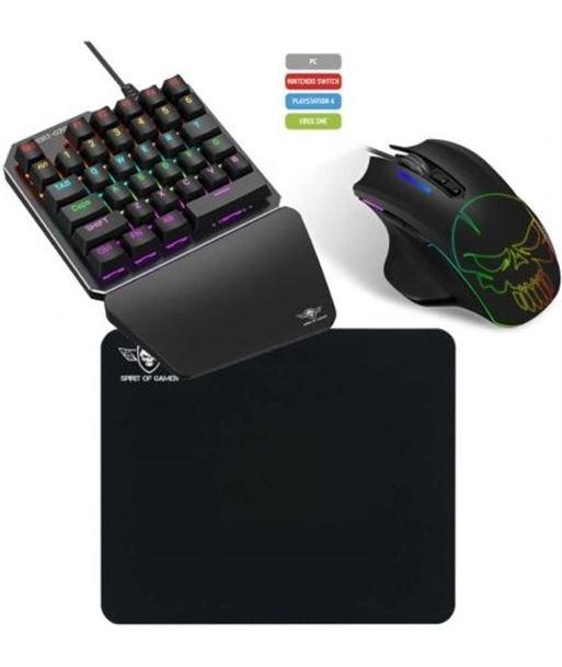 Spirit SOG-XG700 combo teclado y raton gaming of gamer xpert-g700 para consolas y pc - SOG-PACK XG700