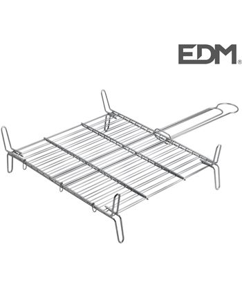 Edm parrilla doble 35x35cm 8002527304359 Barbacoas eléctricas - 76170