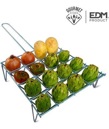 Edm parrilla para verduras 16 unid 8425998768343 Barbacoas eléctricas - 76834