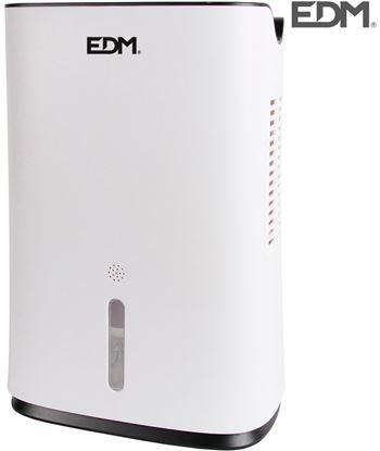 Edm mini deshumidificador 75w tanque 2l capacidad de trabajo 600ml/dia 8425998077001 - 07700