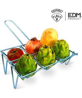 Edm parrilla para verduras 6 unid 8425998768336 Barbacoas eléctricas - 76833