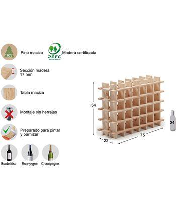 Astigarra botellero evolutivo rioja para 24 botellas pino macizo ga 8422341700050 - 75263 #19