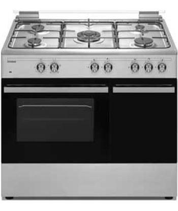 Hyundai HYCO9502PBIX cocina gas 5f 90cm p/bom inox - HYCO9502PBIX