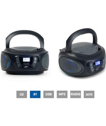 Fonestar BOOM-ONE-G radio cd gris - 4w rms - bluetooth - fm - usb/mp3 - aux - FONE-CD BOOM-ONE-G