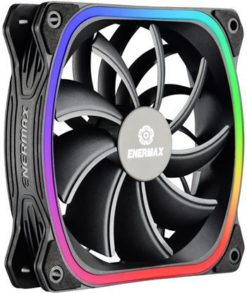 Nuevoelectro.com ventilador 120x120 enermax squa rgb ucsqargb12p-bp3 - A0025621