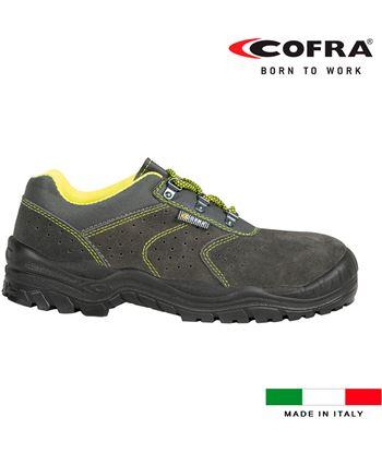 Cofra zapatos de seguridad riace s1 talla 45 8023796500433 - 80385