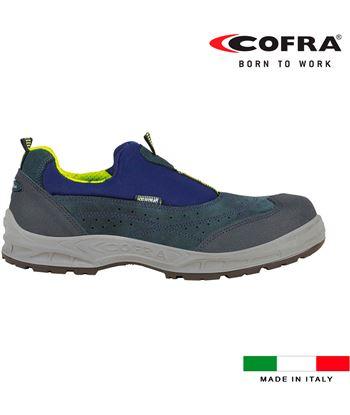 Cofra zapatos de seguridad setubal s1 talla 46 8023796525382 - 80354