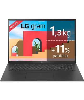 Lg 17Z90P-G.AA78B portátil gram intel core i7-1165g7/ 16gb/ 512gb ssd/ 17''/ - LGP-17Z90P-G AA78B
