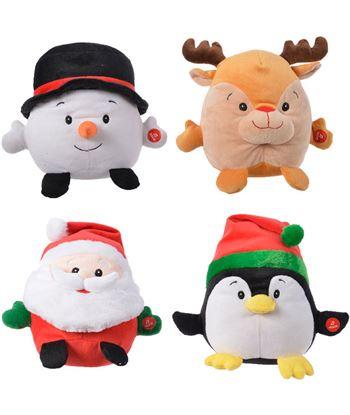 Decoris muñeco navideño cantarin 4 modelos surtidos con vibracion y sonido 8719152999583 - 72016