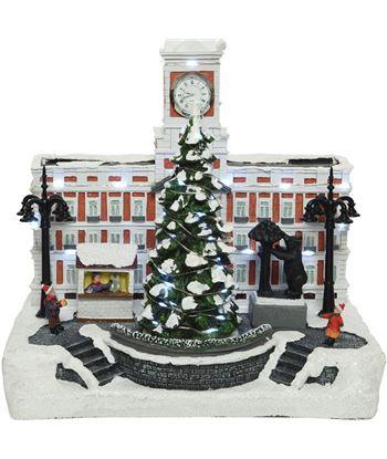 Decoris escena navideña madrid con luz y movimiento 8720093309379 - 72230