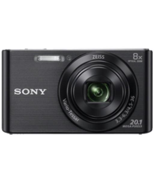 Cámara de fotos digital  Sony dsc-w830 negra 20mp 8x KW830BB - KW830BB