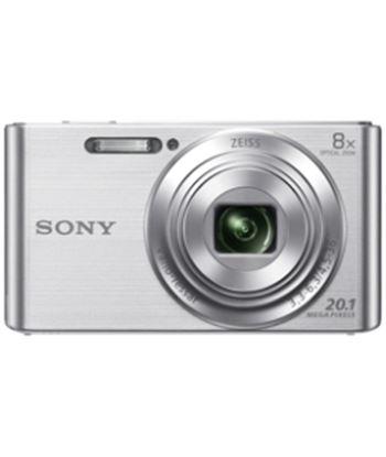 Cámara de fotos digital  Sony dsc-w830 plata 20mp 8x KW830SBGSFDI
