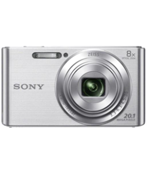Cámara de fotos digital  Sony dsc-w830 plata 20mp 8x KW830SBGSFDI - KW830SB